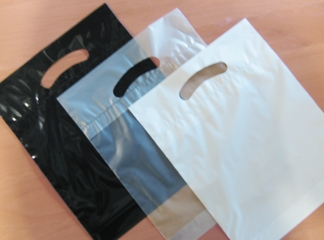 oxo bio bags white, clear and black