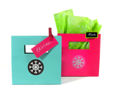 fashion color christmas packaging